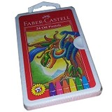 FABER-CASTELL Oil Pastel 12 Pcs [120063O] - Crayon